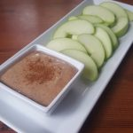 Apple Almond Cinnamon Dip Snack dairyfree